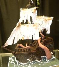 Kraken Pirate Cake