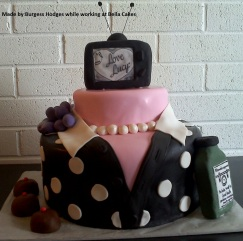 I love Lucy Cake