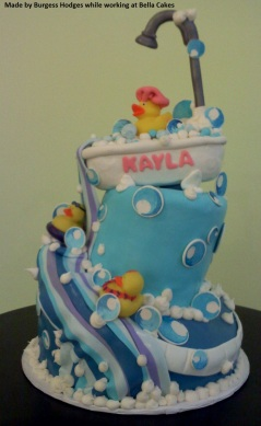 """baby cake"" Rubber duck cake"""