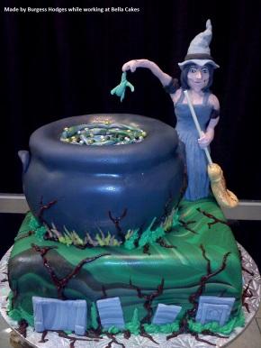 """halloween cake"" ""cauldron cake"" ""potion cake"" ""tombstone cake"" ""spooky cake"""
