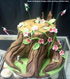 """tree cake"" ""forest cake"" ""vine cake"" ""stump cake"""