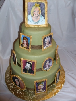 Queen for a Day Cake