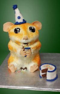 hamster edited background