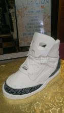 Shoe, high top, concrete, nike, birthday cake